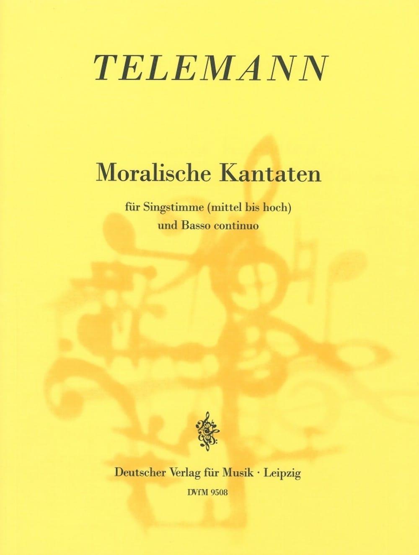 Moralische Kantaten - TELEMANN - Partition - laflutedepan.com