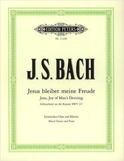 Jesus Bleibet Meine Freude - BACH - Partition - laflutedepan.com