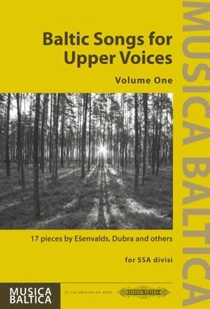 Baltic Songs for Upper Voices. Volume 1 Partition laflutedepan