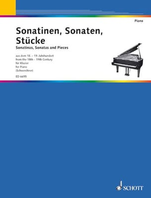 Sonatinen, Sonaten, Stücke Partition Piano - laflutedepan