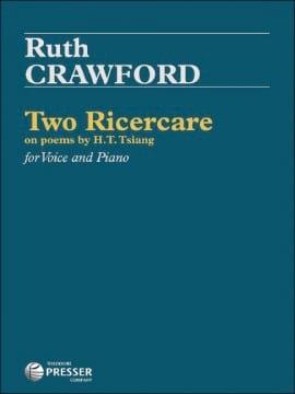 2 Ricercare - Seeger Ruth Crawford - Partition - laflutedepan.com