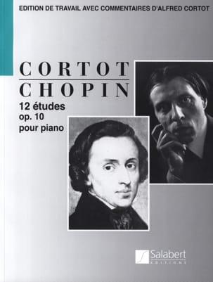 12 Etudes Opus 10 CHOPIN Partition Piano - laflutedepan