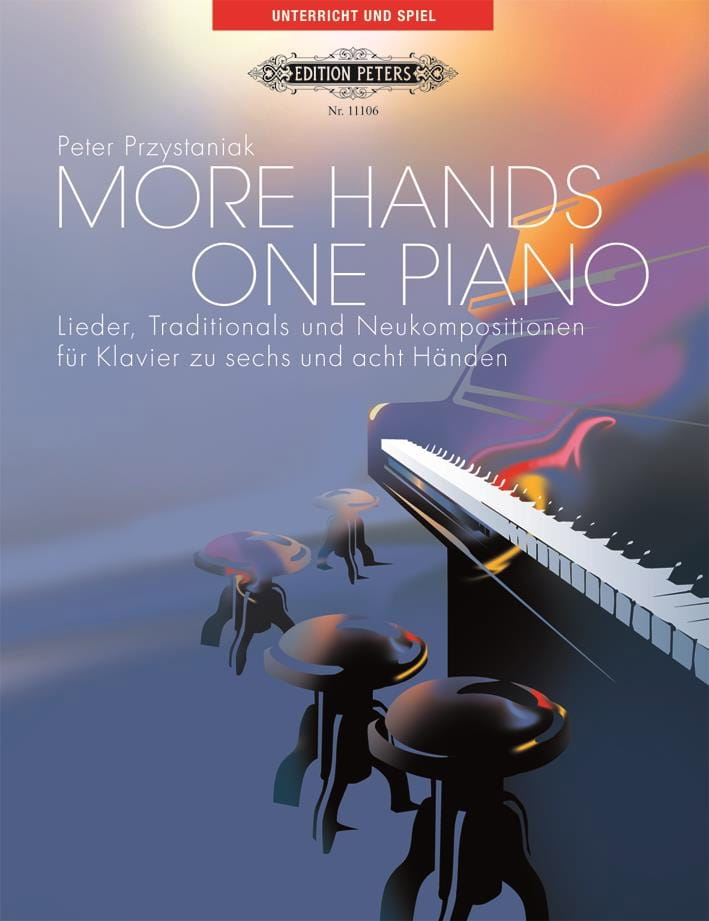 More Hands 1 Piano - Peter Przystaniak - Partition - laflutedepan.com