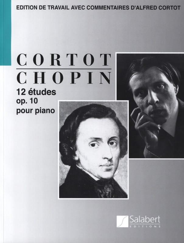 12 Etudes Opus 10 - CHOPIN - Partition - Piano - laflutedepan.com