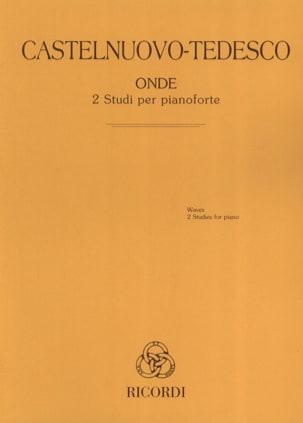 Onde Mario Castelnuovo-Tedesco Partition Piano - laflutedepan