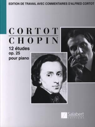 12 Etudes Opus 25 CHOPIN Partition Piano - laflutedepan