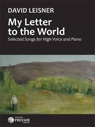 My Letter to the World - David Leisner - Partition - laflutedepan.com