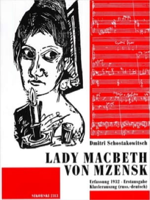 Lady Macbeth Von Mzensk - CHOSTAKOVITCH - Partition - laflutedepan.com