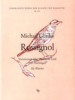 Rossignol GLINKA Partition Piano - laflutedepan