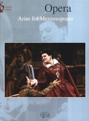 Opera Arias. Mezzo Partition Opéras - laflutedepan