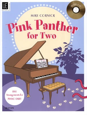 Pink Panther For Two Mike Cornick Partition Piano - laflutedepan