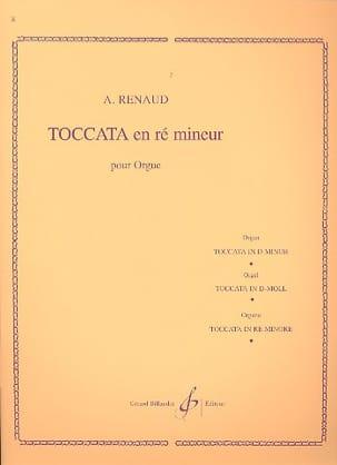 Toccata En Ré Mineur Opus 108-1 Albert Renaud Partition laflutedepan