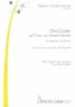 3 Lieder - Pauline Viardot-Garcia - Partition - laflutedepan.com