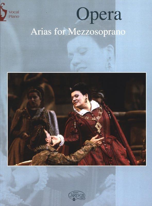 Opera Arias. Mezzo - Partition - Opéras - laflutedepan.com