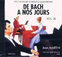 de Bach à nos Jours - Volume 2B - CD DE BACH A NOS JOURS laflutedepan