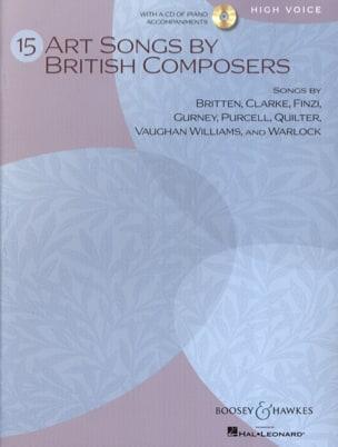 15 Art Songs By British Composers. Voix Haute Partition laflutedepan