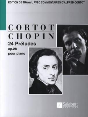 24 Préludes Opus 28 CHOPIN Partition Piano - laflutedepan