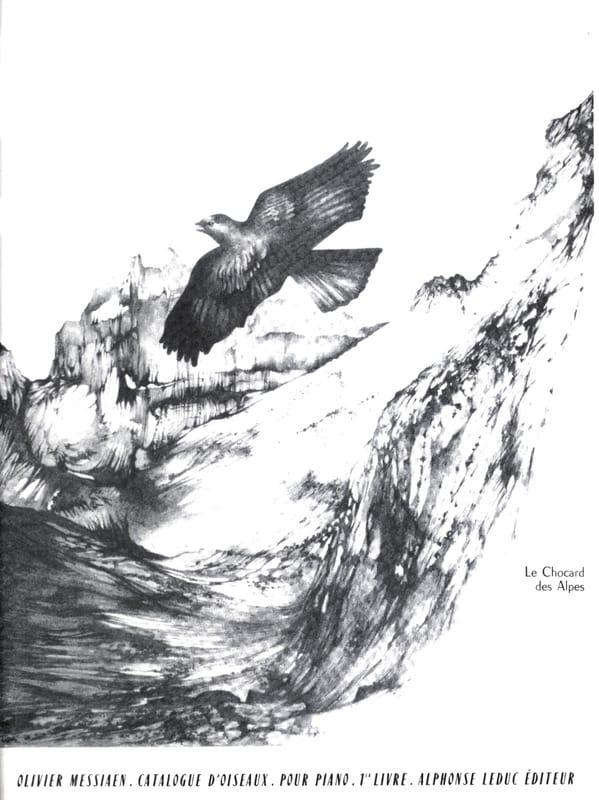 Catalogue D'Oiseaux Volume 1 - MESSIAEN - Partition - laflutedepan.com