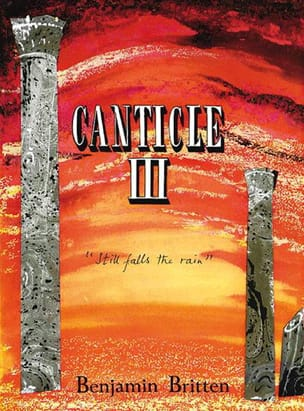 Canticle 3 Opus 55 BRITTEN Partition Cor - laflutedepan