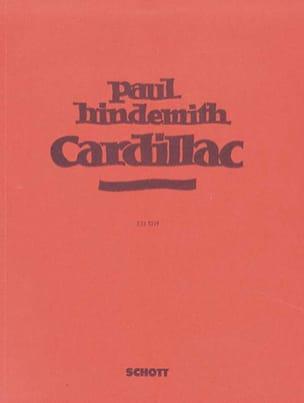 Cardillac 1926 Op. 39. 1ère Version HINDEMITH Partition laflutedepan