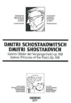 Satiren (Bilder Der Vergangenheit) Opus 109 - laflutedepan.com