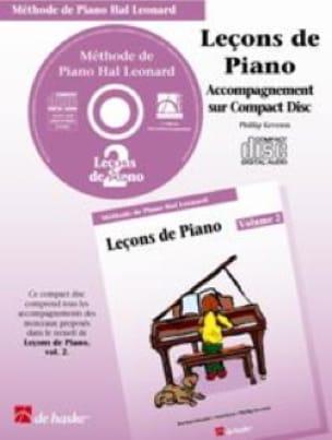 Leçons de Piano Volume 2. CD - laflutedepan.com