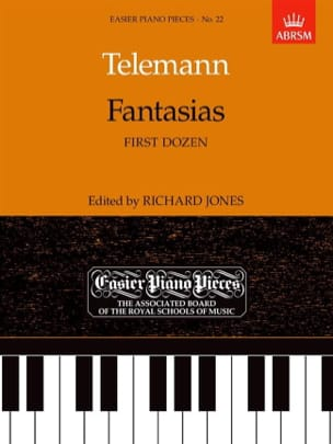 TELEMANN - Fantasie prima dozzina - Partition - di-arezzo.it