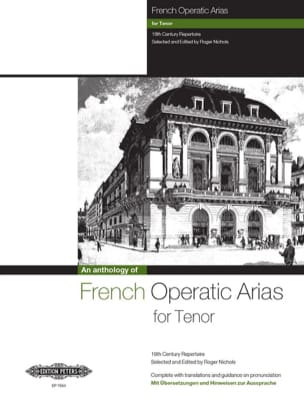 French Operatic Arias Ténor Partition Opéras - laflutedepan