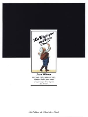 Histoires Sans Paroles Jean Wiener Partition Piano - laflutedepan