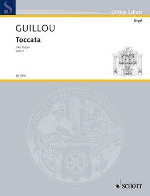 Toccata Opus 9 Jean Guillou Partition Orgue - laflutedepan