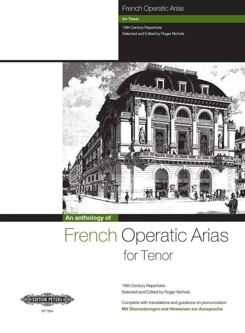 French Operatic Arias Ténor - Partition - laflutedepan.com