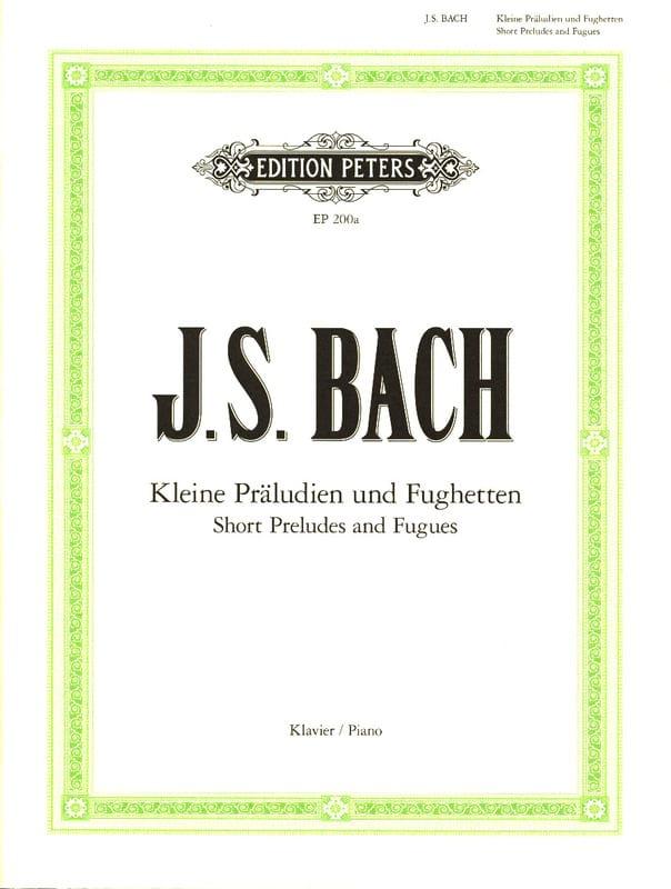 Kleine Präludien und Fughetten - BACH - Partition - laflutedepan.com