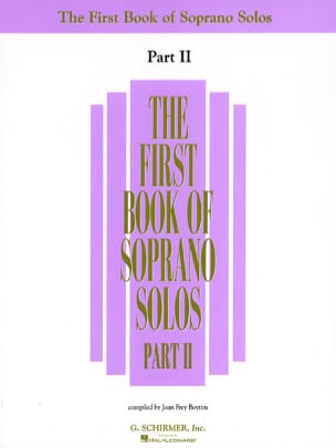 The First Book Of Soprano Solos - Part 2 Partition laflutedepan