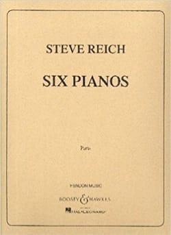Six pianos Steve Reich Partition Piano - laflutedepan