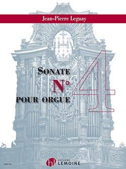 Sonate pour orgue n° 4 Jean-Pierre Leguay Partition laflutedepan