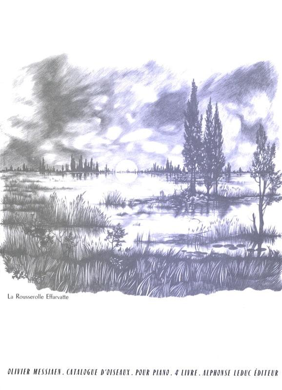 Catalogue D'Oiseaux Volume 4 - MESSIAEN - Partition - laflutedepan.com