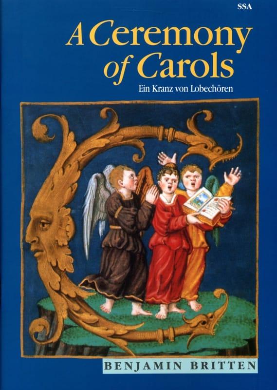 Ceremony Of Carols - SSA - BRITTEN - Partition - laflutedepan.com