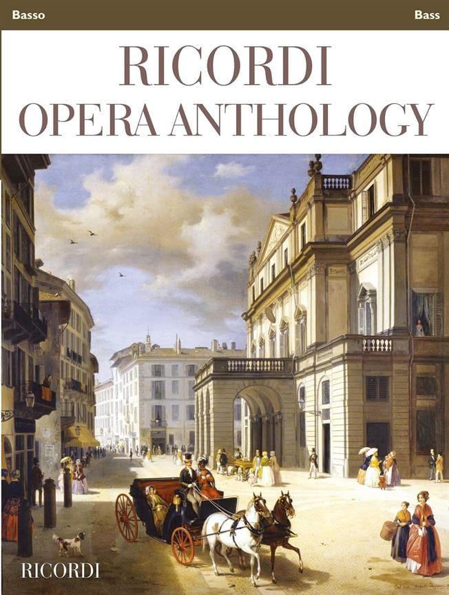 Ricordi Opera Anthology - Basse - Partition - laflutedepan.com