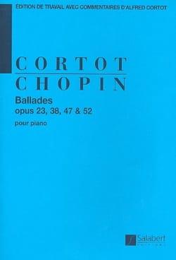 Ballades CHOPIN Partition Piano - laflutedepan