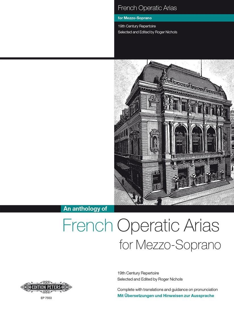 French Operatic Arias Mezzo - Partition - laflutedepan.com