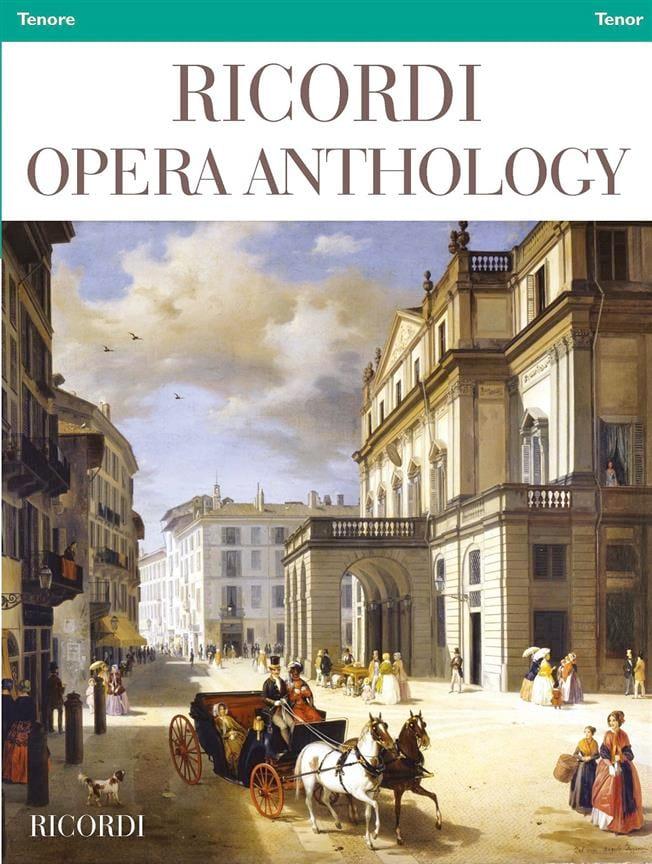 Ricordi Opera Anthology - Ténor - Partition - laflutedepan.com