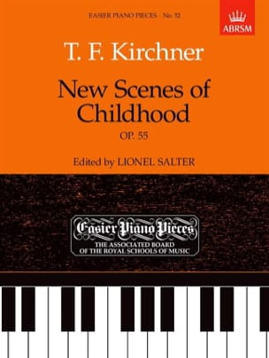 Theodor Kirchner - New Scenes Of Childhood Op. 55 - Partition - di-arezzo.co.uk