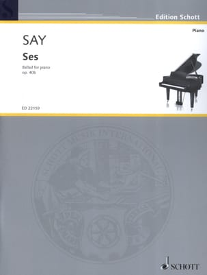 Ses op. 40b Fazil Say Partition Piano - laflutedepan