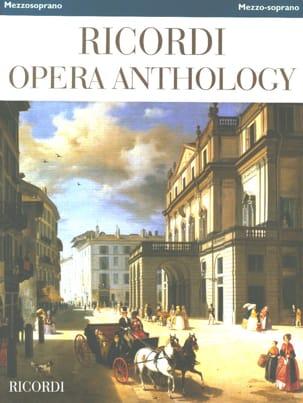 Ricordi Opera Anthology - Mezzo-Soprano Partition laflutedepan