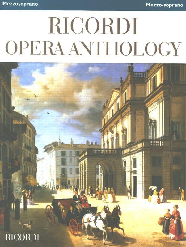 Ricordi Opera Anthology - Mezzo-Soprano - laflutedepan.com