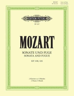 Sonate En Ré Majeur et Fugue K 448 & 426. 2 Pianos MOZART laflutedepan