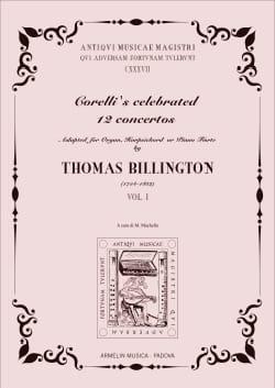 12 Concertos Volume 1 CORELLI Partition Orgue - laflutedepan