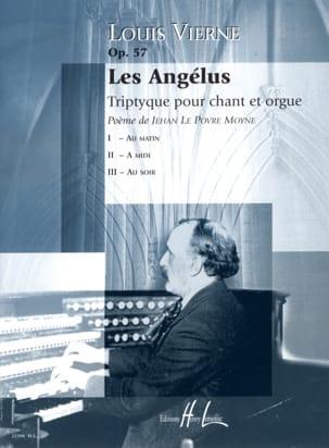 Les Angélus Opus 57 VIERNE Partition Mélodies - laflutedepan