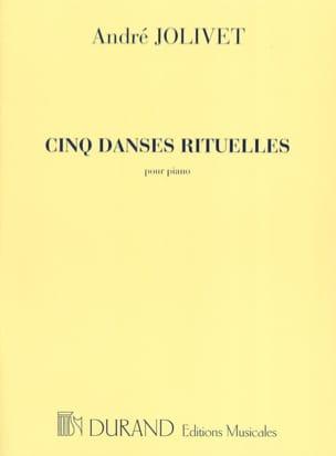 5 Danses Rituelles André Jolivet Partition Piano - laflutedepan