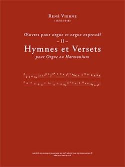 Oeuvres pour orgue. Volume 2 René Vierne Partition laflutedepan